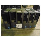 7 Dell OptiPlex 980 Towers