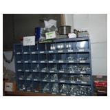 Metal Hardware Organizer and Hardware