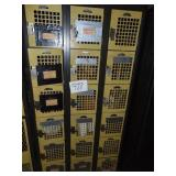 18 Locker Unit and Contents