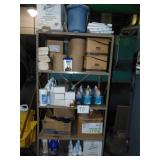 Janitorial Chemical Supplies and Shelf