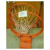 2 Basketball Hoops
