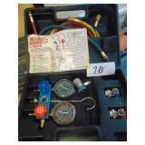 Air Conditioning Manifold Gauge