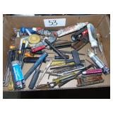 Tools and Chemicals