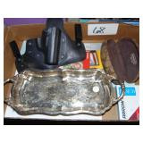 Holdster, Silver Tray, Coach Case