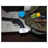 Gun Cleaning Kit and Pistol