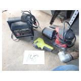 Sander Charger and Tools