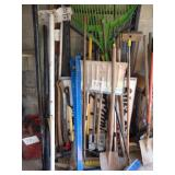 Outdoor Tools and Latter Rack