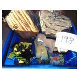 Toys and Baseball Gloves