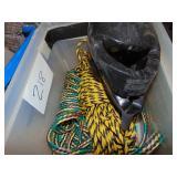 Rope and Helmet