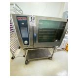 Rational Pizza oven With cart