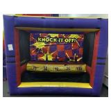 Knock it off game inflatable