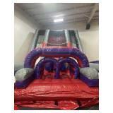 Huge Dual Landed Obstacle Rock climb