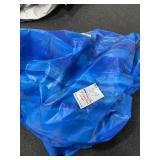 Vinyl bag with slide cover inside