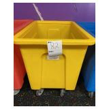 Yellow Plastic Tote