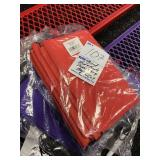mixed red and purple drawstring bags (40) count