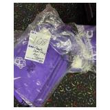 purple drawstring bags approx (40)