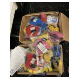 plush toys and goodie bags