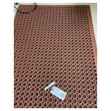 (2) 5x3 rubber mats