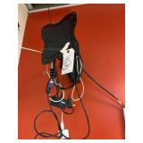 tv mount with wires