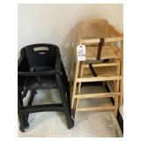 (3) hi chairs