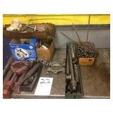 Lot of Bearing Pullers drivers and hones