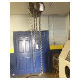 Philadelphia 1-Ton Chain Hoist