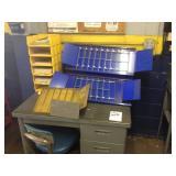 Desk and Catalog Racks