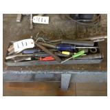 Tray full of Hand Tools