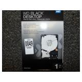 wd black desktop 1TB Hard Drive