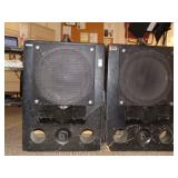 2 Ev  Pa speakers
