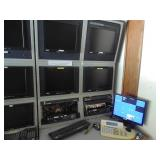 Security monitors & rack