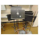 6 music stands