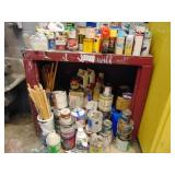 supply lot, paints, heat gun