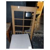 1 wooden box