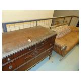 wooden 4 drawer bureau