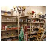 16ft x 6ft metal shelving unit