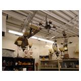 8 hanging light fixtures