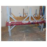 2-4ft x 8ft work tables
