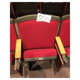 (233) Theatre Chairs and Seats