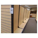 FIVE (5) Sections of Book Shelving