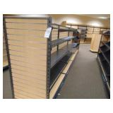 FOUR (4) Sections of Book Shelving