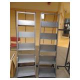 FOUR (4) Metal Racks