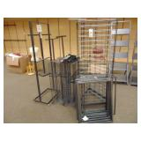 LARGE Lot of Advertising Display Racks