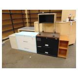 FIVE (5) Organizing Cabinets