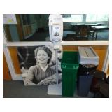 picture hand sanitizer trashcan
