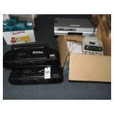 3 sony cd boom cassette radios