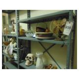 9-metal shelving and contents