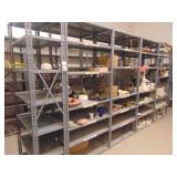 20 metal shelving