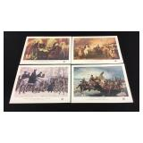 American Revolution Bicentennial Stamp Sheets