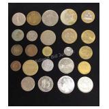 24 European Coins